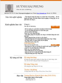 Business Architect Resume Alluring Cv Xin Việc Hiệu Quả  Cach Viet Cv Xin Viec  Pinterest