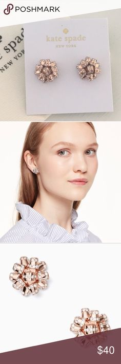 Kate Spade Gold Bourgeois Bow Earrings NWT - brand new with dust bag included  Retail for $68.00 kate spade Jewelry Earrings