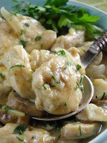 Danie bardzo proste, łatwe do przygotowania. Wiem, że takie bardzo lubicie :) Podobnie zresztą jak ja. Dziś nie mam czasu na wymyślne posiłk... Potato Salad, Food And Drink, Potatoes, Healthy Recipes, Chicken, Meat, Ethnic Recipes, Potato, Healthy Diet Recipes