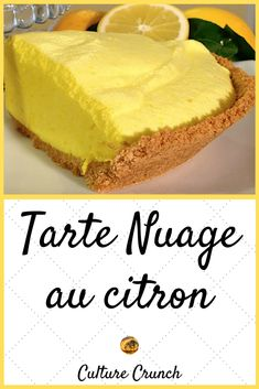 Zitronenwolken-Torte - Gâteaux et desserts recipes pies Sweet Recipes, Cake Recipes, Snack Recipes, Dessert Recipes, Cooking Recipes, Snacks, Lemon Recipes, Apple Desserts, Lemon Desserts