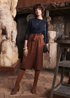 Best Winter Fashion For Work Picture Ideas - Unity Fashion Skirt Outfits, Casual Outfits, Cute Outfits, Fall Winter Outfits, Autumn Winter Fashion, Modest Fashion, Fashion Outfits, Meeting Outfit, Look Boho