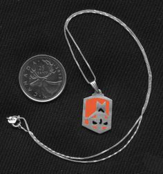 Sterling Silver Castle Crashers necklaces on Etsy for $33 each.