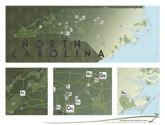 NC Map by SirInkman onFlickr