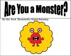 Are You a Monster?  Find out by reading this mini-book!  Adorable pictures by Digital Bakeshop were the inspiration for this book.  Simple text tha...
