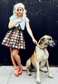 One of my Style Icons - the beautiful and talented Miss Marina and the Diamonds!!