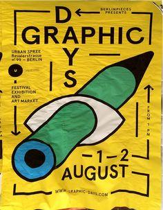 postersofberlin: Berlin Graphic Days – found in Friedrichshain