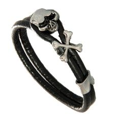 Skull and Crossbones Bracelet