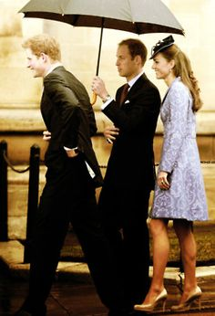 Prince Harry, Prince William, and Kate Middleton attend a special church service to celebrate Prince Phillip's 90th birthday.