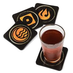These Legend Of Korra Coasters Will Keep Your Table Safe From Spilled Cactus Juice