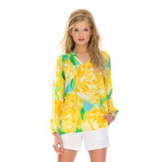 Elsa Top - First Impression Sunglow Yellow First Impression $79