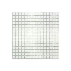 Wandtegel glasmozaïek 2x2cm wit 1,07 m² Gamma 19 euro / m²