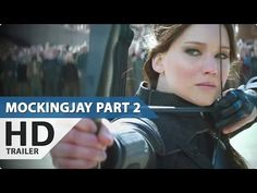 SOOOO EXCITED!!!!!  The Hunger Games: Mockingjay Part 2 Official Trailer (2015) Jennfier Lawrence [HD] - YouTube