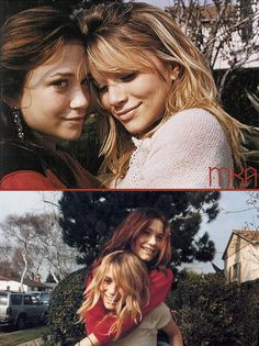 Mary-kate & Ashley Olsen, top of my list of people I admire.
