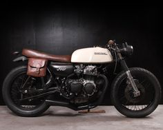Honda CB350F  Makes me wanna ride again... and also wear goggles and bomber jackets and power everything with steam.