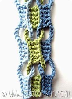 Crochet - Wave Stitch.