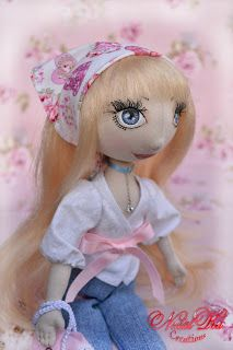Art doll. Текстильная кукла. NatalKa Creations