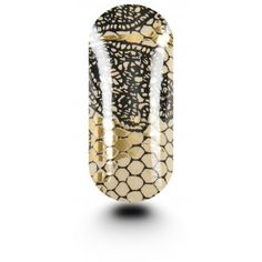KOOKY Queen of Lace Beige & Gold Wraps