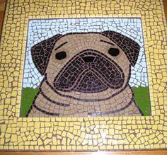 Pug_mosaic by KG Studio