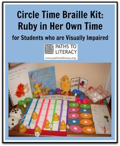 """These ideas use """"Ruby in Her Own Time"""" to encourage the development of pre-braille skills in young children with visual impairments."""