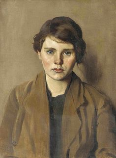 Isabel Codrington (British artist) 1874 - 1943 aka Isabel Codrington Pyke Nott Phoebe, s. oil on canvas 24 x 18 in.) signed with a monogram (lower left) and inscribed 'Phoebe' (on the stretcher) private collection Oil Portrait, Female Portrait, Female Art, Portrait Paintings, Oil Paintings, Best Portraits, Figure Painting, Figurative Art, Painting Inspiration
