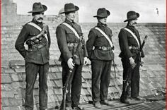 I.C.A on the roof of Liberty Hall  Near One Hundred and Three years ago this on 19 November 1913, the Irish Citizen Army was launched to defender led out workers in clashes with the police.