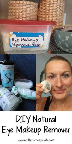 Learn how to make DIY natural eye makeup remover for half the price of what you would pay at the dollar store and you'll know all the ingredients!
