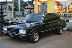 My first car, Mitsubishi Lancer SL 1982