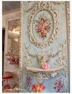 I would, if i could figure out how. (Rococo - couldn't do this in my home but would love to.)