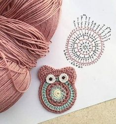 Eule Häkelanleitung Eule Häkelanleitung Learn the rudiments of how to crochet, at the very first. Owl Crochet Patterns, Crochet Owls, Crochet For Kids, Crochet Crafts, Crochet Flowers, Crochet Projects, Knit Crochet, Crochet Diagram, Crochet Motif