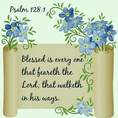 Psalm 128: 1