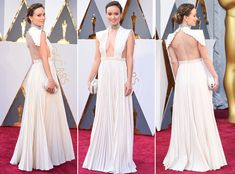 Google's Top-Searched Oscar Dresses Are Not What You'd Expect - 1. Olivia Wilde in  Valentino Haute Couture gown,  Neil Lane jewelry and a Roger Vivier clutch  - from InStyle.com