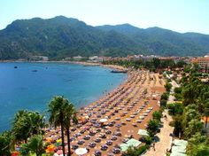 Marmaris what a calamity we had here! Marmaris Turkey, Turkey Holidays, Holiday Places, Turkey Travel, Fishing Villages, Beach Holiday, White Sand Beach, Historical Sites, Wonders Of The World