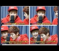 ...AHHH I love them! They're like the perfect example or bromance/friendship #xiumin #luhan #exo