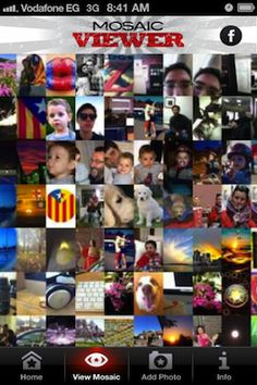 Revolution Mosaic launches to create a crowdsourced image for our mobile generation