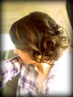 My hair for prom 2012 :)