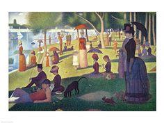 Georges Seurat - Sunday Afternoon on the Island of La Grande Jatte