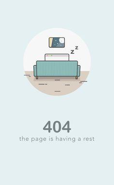 Dribbble - 404.jpg by Bikki