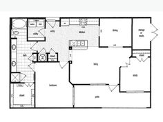 36 sixty Floorplans - A8 1203 sq ft