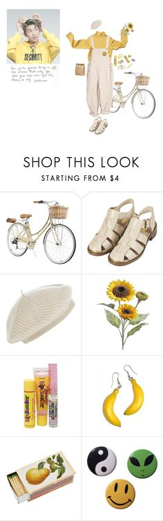 """""""sun"""" by kimguraes ❤ liked on Polyvore featuring Topshop, Harrods, Pier 1 Imports, Bonne Bell and Shandell's"""