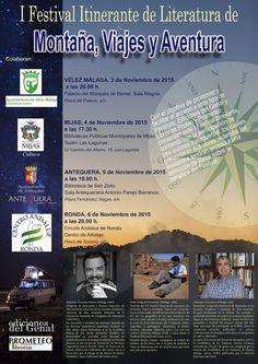 I Festival de literatura de Montaña, Viajes y Aventura