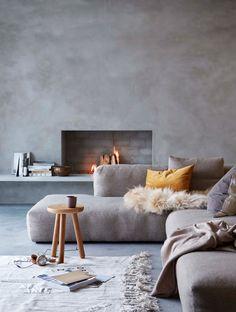 Willkommen Zuhause, Wand Ideen, Sichtbeton, Altbauwohnung, Besonderheiten,  Schöner Wohnen, Renovierung, Feuer, Rund Ums Haus
