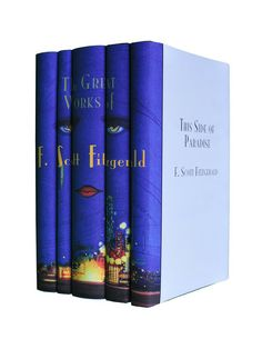 Cool book sets on Gilthome The Beautiful and Damned, The Great Gatsby, Tales of the Jazz Age, Tender is the Night and This Side of Paradise. Books published by Scribne... F. Scott Fitzgerald