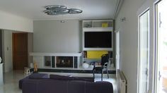 Living room with Skydro  by artemide