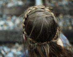 perfect bohemian hairdo