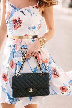 Sundresses styled right. Looks from Sydne Style | Source: http://www.sydnestyle.com/2014/07/day-to-night-printed-sundress/