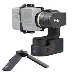 Feiyutech Wg2Wearable étanche 3axes Cardan Stabilisateur pour GoPro Hero4/5/Session/YI 4K Portable ou Naviguer sur la pluie de prise de vue et caméras de taille similaire