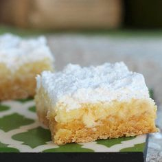 White Chocolate Butter Bars