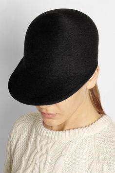 Eugenia Kim|Joey wool-felt cap|NET-A-PORTER.COM