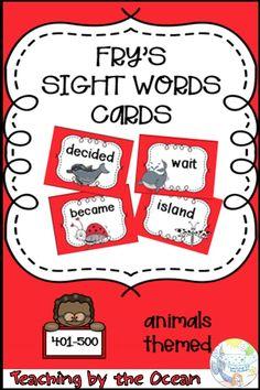 Fry Sight Words, Sight Words List, Kindergarten Classroom Management, Kindergarten Literacy, Literacy Centers, Teaching Plan, Help Teaching, Behavior Plans, Behavior Charts