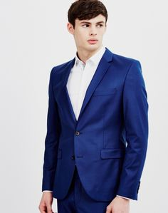 Selected Blue Blazer   Shop now at The Idle Man   #StyleMadeEasy